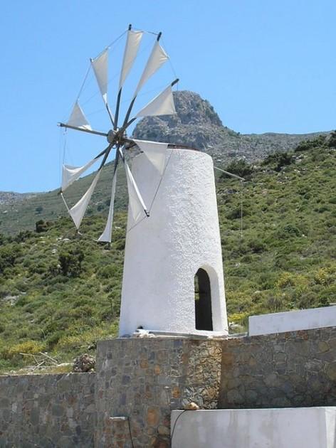 A_Windmill_on_the_Lasithi_Plateau - Nick Winslow