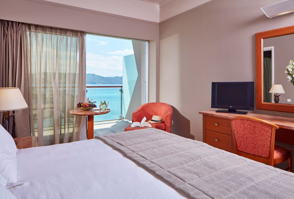 AKS Hinitsa Bay Hotel Standard Double Room with Sea View