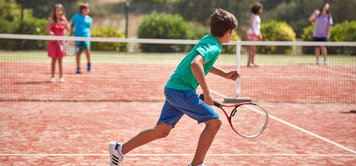 TENNIS IN GREECE Accomplished coach Filippos Karafilidis and his team 'Tennis in Greece' will join us until 25/07.