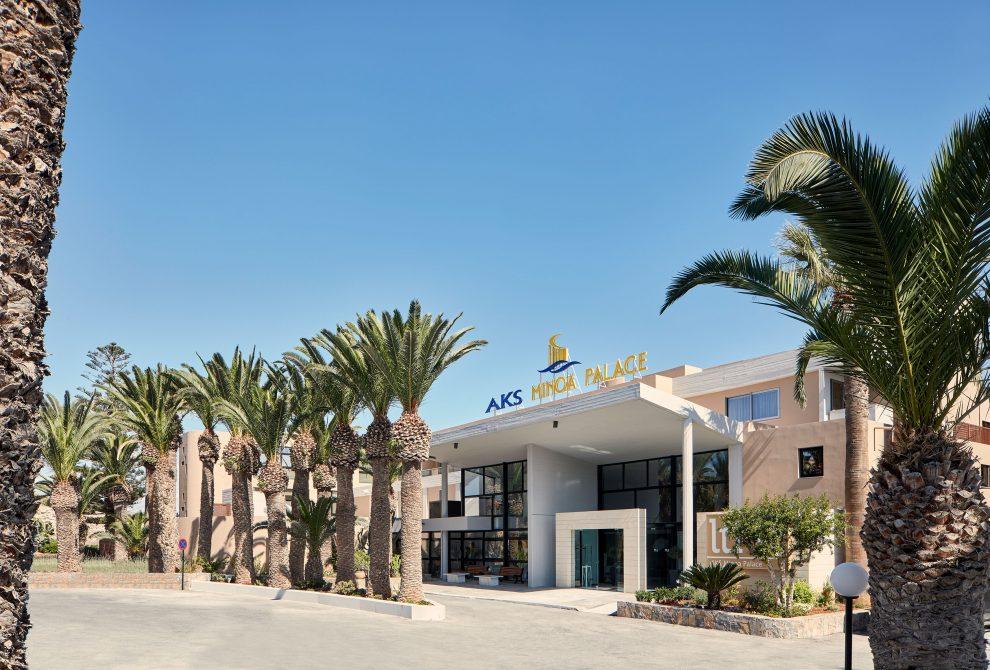 lti AKS Minoa Palace Hotel Είσοδος