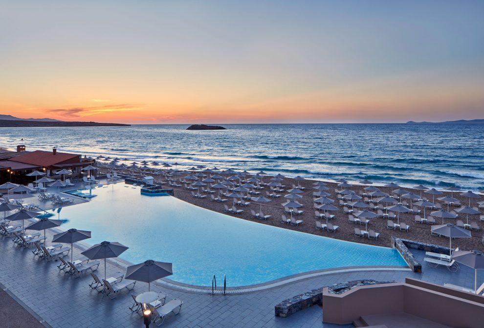 lti AKS Minoa Palace Hotel Πισίνα