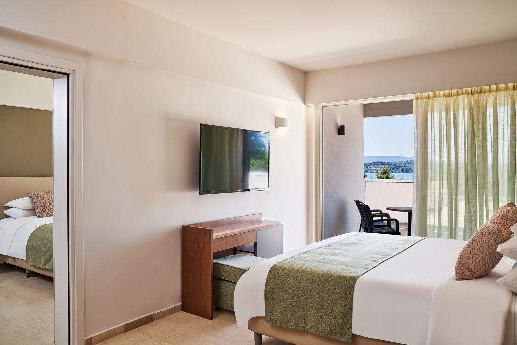 AKS Porto Heli Hotel Οικογενειακό δύο υπνοδωματίων με θέα θάλασσα