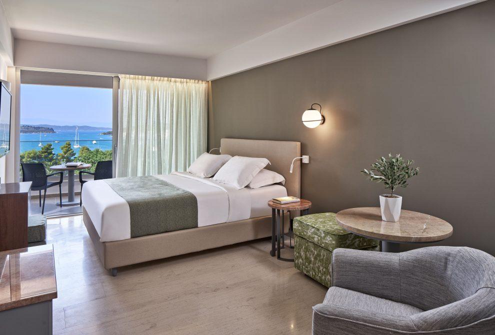 AKS Porto Heli Hotel Superior Room with Sea View