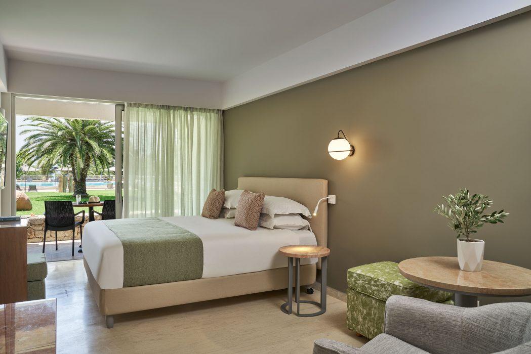 AKS Porto Heli Hotel Superior δωμάτιο με θέα κήπο