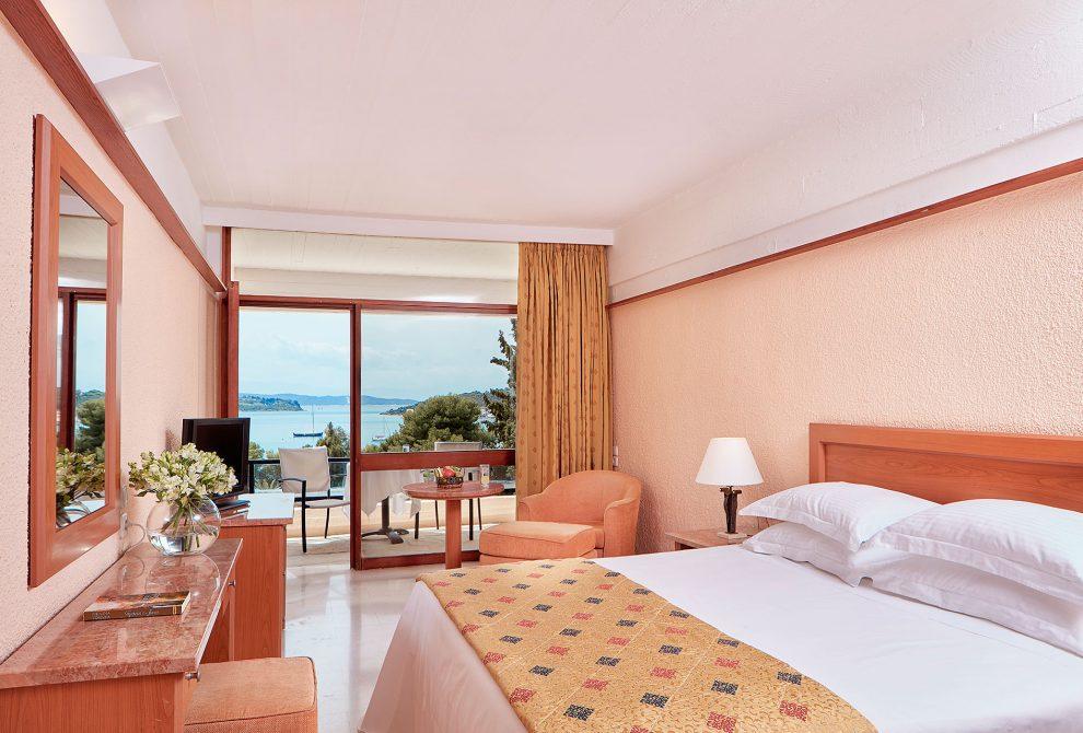 AKS Porto Heli Hotel Standard δωμάτιο με θέα θάλασσα