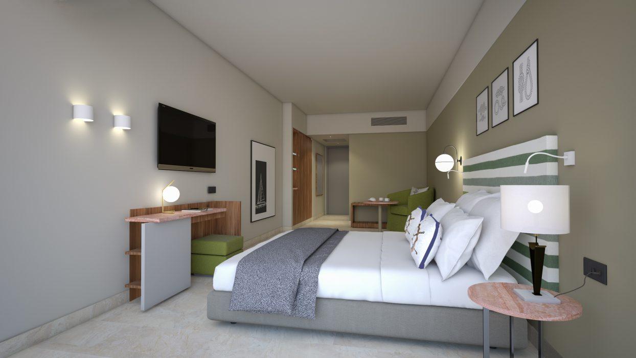 AKS Porto Heli Hotel Οικογενειακό δωμάτιο με θέα θάλασσα
