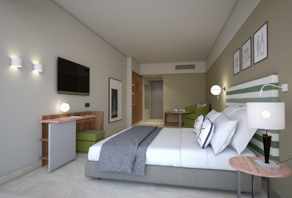 AKS Porto Heli Hotel Standard δωμάτιο με θέα κήπο