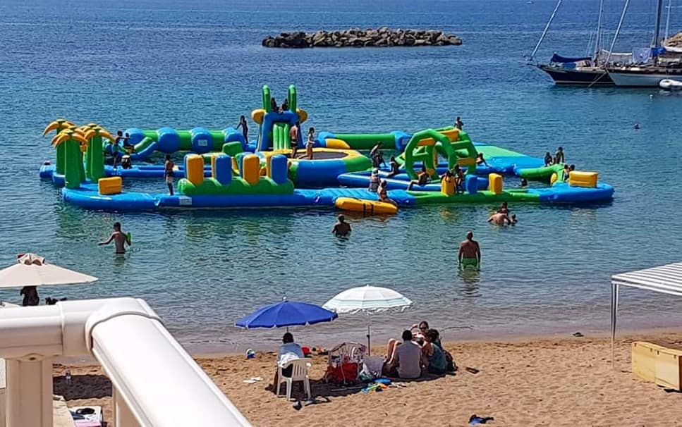 AKS Porto Heli Hotel Sea water park