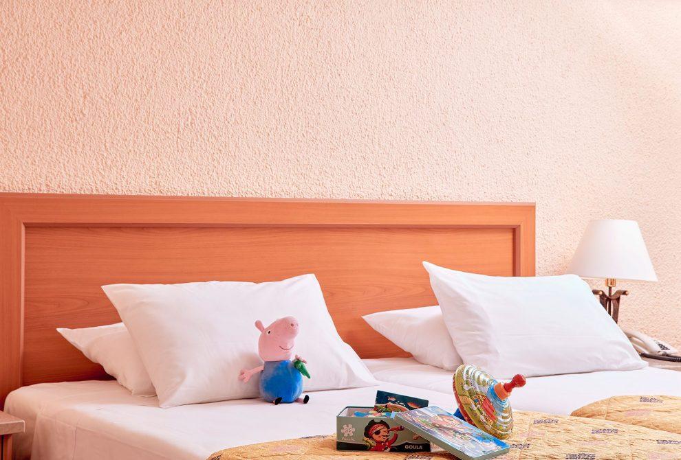 AKS Porto Heli Hotel Standard δωμάτια Interconnecting με θέα κήπο