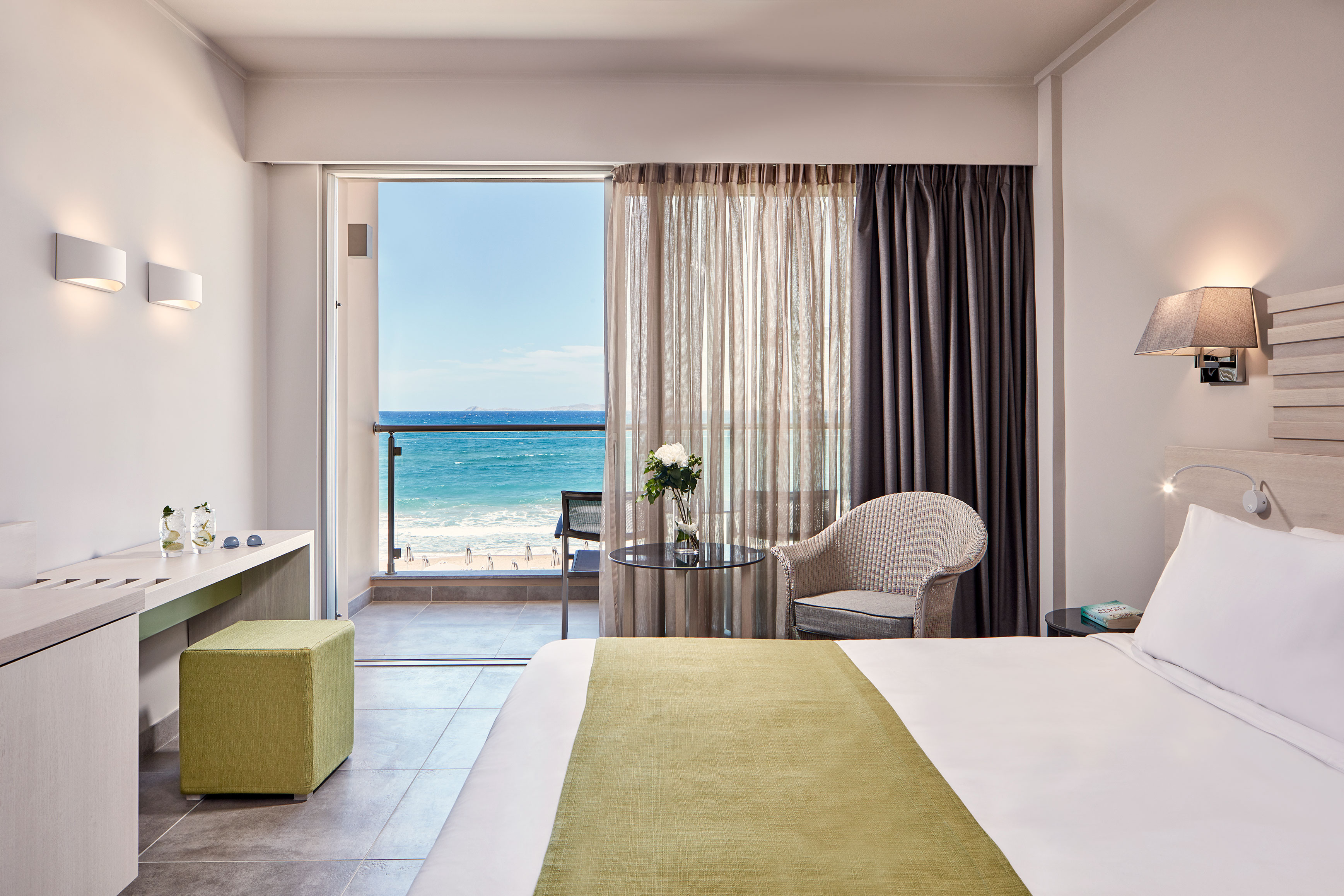 Standard Double room with Sea View - AKS HOTELS