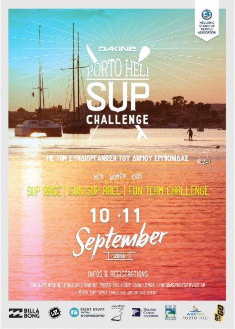 Dakine Porto Heli SUP Challenge 2016